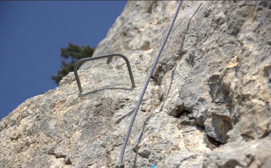 TV – Beitrag: Kinder am Klettersteig