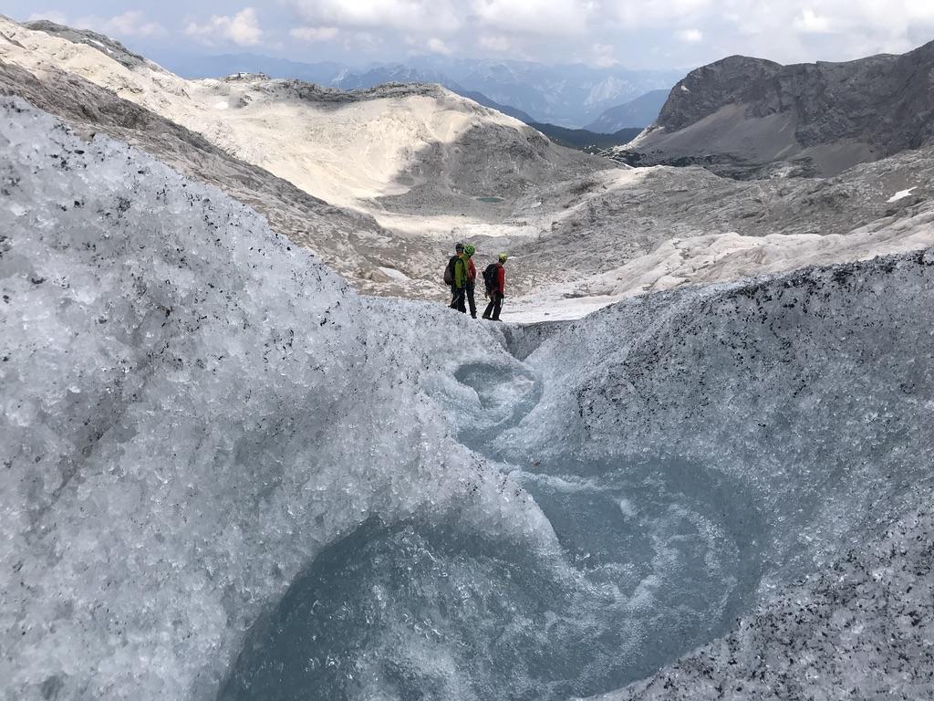 """Hochtourenkurs """"Steile Eisflanken und Fels"""""""